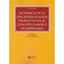 Incidencia de la descentralización productiva en el concepto laboral de empresario