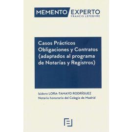 Casos prácticos obligaciones y contratos (adaptados al programa de Notarías y Registros)