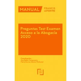 Preguntas Test Examen Acceso a la Abogacía 2020