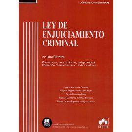 Ley de Enjuiciamiento Criminal. Comentada 2020