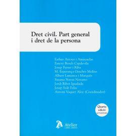 Dret civil. Part general i dret de la persona 2020