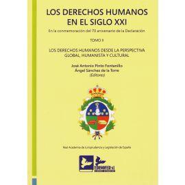 Los derechos humanos en el siglo XXI. Tomo II. En la conmemoración del 70 aniversario declaración Los derechos humanos desde la perspectiva global, humanista y cultural. Edición Encuadernado