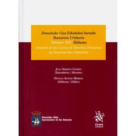 Anuario de los Cursos de Derechos Humanos de Donostia-San Sebastián. Volumen XIX. Donostiako Giza Eskubideei buruzko Okastaroen Urtekaria