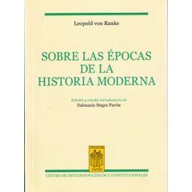 Sobre las Épocas de la Historia Moderna