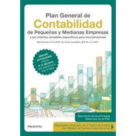 Plan General de Contabilidad de pequeñas y medianas empresas