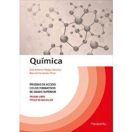 Química: pruebas de acceso a ciclos formativos del grado superior