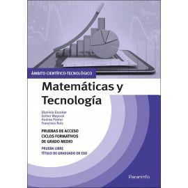 Matemáticas y tecnología. Temario pruebas de acceso a ciclos formativos de grado medio. Ámbito científico tecnológico
