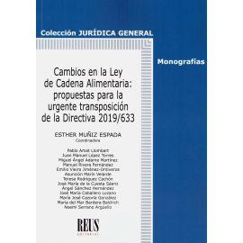 Cambios en la ley de Cadena Alimentaria: propuestas para la urgente transposición de la Directiva 2019/633
