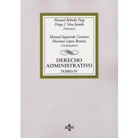 Derecho administrativo Tomo IV