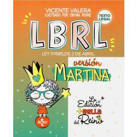 LBRL . Ley 7/1985, de 2 de abril. Versión Martina