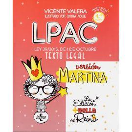 LPAC versión Martina. Ley 39/2015, de 1 de octubre