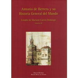 Antonio de Herrera y su Historia General del Mundo, Tomo III Estudio de Mariano Cuesta Domingo