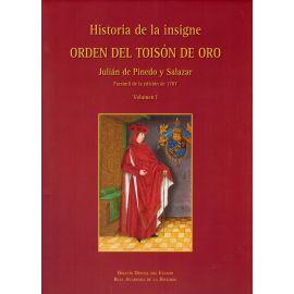 Historia de la Insigne Orden del Toisón de Oro 3 Vols.