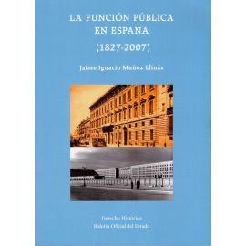 Función pública en España (1827-2007)