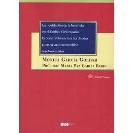 Liquidación de la herencia en el Código Civil español. Especial referencia a las deudas sucesorias desconocidas o sobrevenidas