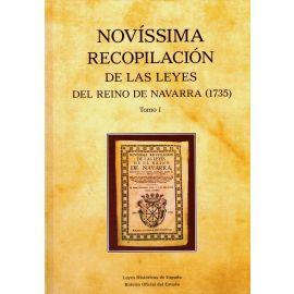 Novíssima recopilación de las Leyes del Reino de Navarra (1735) 2 Tomos