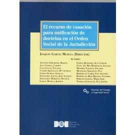Recurso de casación para unificación de doctrina en el Orden Social de la Jurisdicción