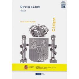 Código de Derecho Sindical 2020. 2 Tomos. Actualizado 21 de Octubre 2020