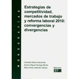 Estrategias de Competitividad, Mercados de Trabajo y Reforma Laboral 2010: Convergencias y Divergencias