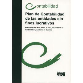 Plan de Contabilidad de las Entidades sin Fines Lucrativos.                                          Resolución de 26 de Marzo de 2013, del ICAC. Contabilidad