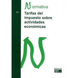 Tarifas del Impuesto sobre Actividades Económicas 2018 Normativa