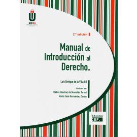 Manual de Introducción al Derecho 2018