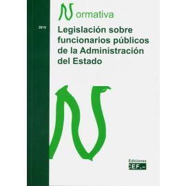 Legislación sobre Funcionarios Públicos de la Administración del Estado 2019