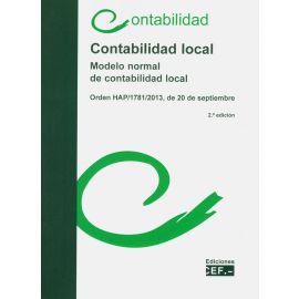 Contabilidad local 2020. Modelo normal de contabilidad local. Orden HAP/1781/2013, de 20 de septiembre