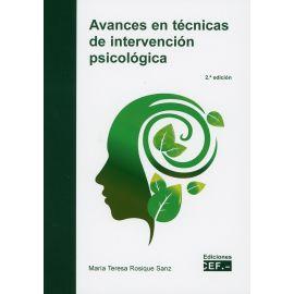 Avances en técnicas de intervención psicológica 2019