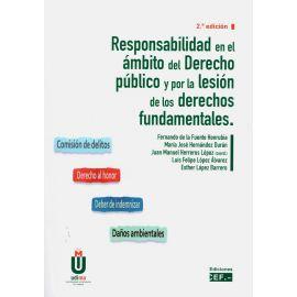 Responsabilidad en el ámbito del derecho público y por la lesión de los derechos fundamentales 2019