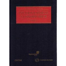 Estudios Jurídicos y Universitarios, 2 Vols.