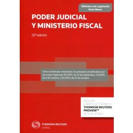 Poder Judicial y Ministerio Fiscal 2016 (CIVITAS)