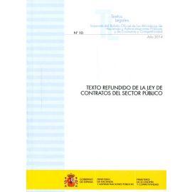 Texto Refundido de la Ley de Contratos del Sector Público Separata del Boletín Oficial de los Ministerios de Hacienda y Administraciones Públicas y