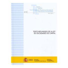 Texto Refundido de la Ley de Sociedades de Capital 2014 Nº 13 Año 2014