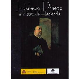 Indalecio Prieto Ministro de Hacienda