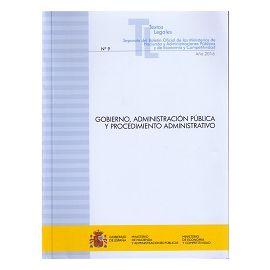 Gobierno, Administración Pública y Procedimiento Administrativo