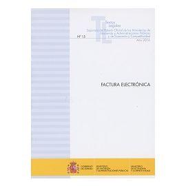 Factura Electrónica 2017 Nº 15Año 2016 Separata del Boletín Oficial de los Ministerios de Hacienda