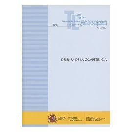 Defensa de la Competencia 2017 Nº 3 Año 2017 Separata del Boletín Oficial de los Ministerios de Hacienda y Función Públic
