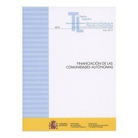 Financiación de las Comunidades Autónomas 2017 Nº 9 Separata del Boletín Oficial de los Ministerios de Hacienda y Función Pública