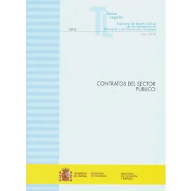 Contratos del Sector Público 2018 Nº 6 Separata del Boletín Oficial de los Ministerios de Hacienda y de Economía y Empresa