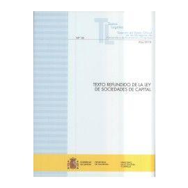Texto Refundido de la Ley de Sociedades de Capital 2018 Nº 10 Separata del Boletín Oficial de los Ministerios de Hacienda y Ecomomia y Empresa