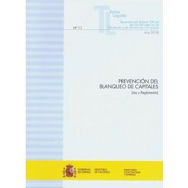 Prevención del Blanqueo de Capitales (Ley y Reglamento)