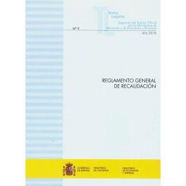 Reglamento General de Recaudación 2019. Nº 9 Separata del Boletín Oficial de los Ministerios de Hacienda y de Economía y Empresa