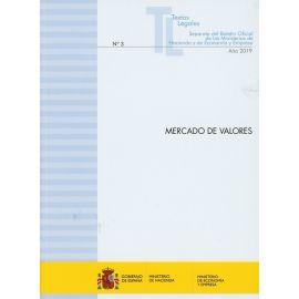 Mercado de valores 2019. Nº 3 Separata del Boletín oficial de los Ministerios de Hacienda y de Economía y Empresa
