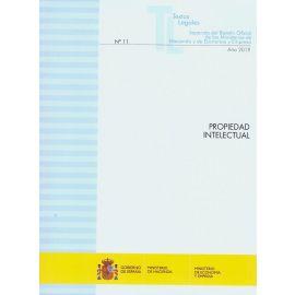 Propiedad intelectual 2019. Separata del Boletín Oficial de los Ministerios de Hacienda y de Economía y Empres Nº 11