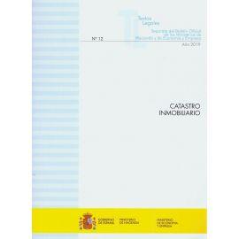 Catastro Inmobiliario 2019. Separata del Boletín Oficial de los Ministerios de Hacienda y de Economía y Empresa Nº 12