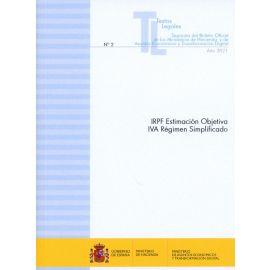 IRPF Estimación objetiva IVA Régimen simplificado 2021 Separata del Boletín Oficial de los Ministerios de Hacienda y de Asuntos Económicos y Transformación Digital