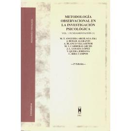 Metodología Observacional en la Investigación Psicológica. Vol. 1 Fundamentación (1)