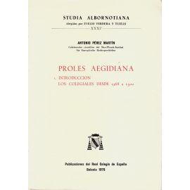 Proles Aegidiana 4 Vols.