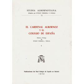 Cardenal Albornoz y Colegio España, I.